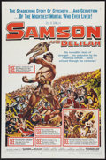 "Movie Posters:Adventure, Samson and Delilah Lot (Paramount, R-1959). One Sheets (2) (27"" X41""). Adventure.. ... (Total: 2 Items)"