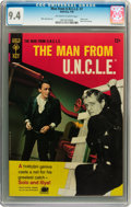 Silver Age (1956-1969):Adventure, Man from U.N.C.L.E. #7 (Gold Key, 1966) CGC NM 9.4 Off-white to white pages....