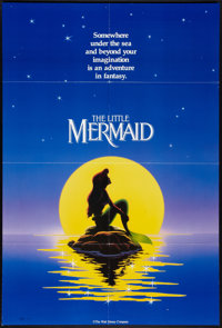"The Little Mermaid (Buena Vista, 1989). One Sheet (27"" X 41"") DS Advance. Animated"