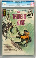 Silver Age (1956-1969):Horror, Twilight Zone #8 White Mountain pedigree (Gold Key, 1964) CGC NM+9.6 White pages....