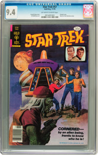 Star Trek #57 (Gold Key, 1978) CGC NM 9.4 Off-white to white pages