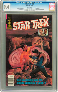 Star Trek #58 (Gold Key, 1978) CGC NM 9.4 White pages