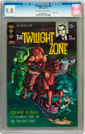 Silver Age (1956-1969):Horror, Twilight Zone #34 (Gold Key, 1970) CGC NM/MT 9.8 Off-white to whitepages....