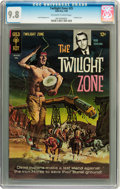 Silver Age (1956-1969):Horror, Twilight Zone #25 (Gold Key, 1968) CGC NM/MT 9.8 Off-white to whitepages....