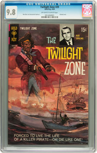 Twilight Zone #29 (Gold Key, 1969) CGC NM/MT 9.8 Off-white to white pages
