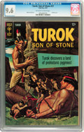 Silver Age (1956-1969):Adventure, Turok, Son of Stone #57 (Gold Key, 1967) CGC NM+ 9.6 Off-white to white pages....