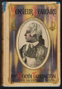 """Monsieur Beaucaire (Grosset & Dunlap, 1926). Hardcover Book (116 Pages, 5.25"""" X 7.75"""") Rudolph Valentino P..."""