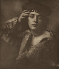 Photographs:19th Century, F. BENEDICT HERZOG (American, 1859-1912). Marcella, 1905. Photogravure. 7-7/8 x 6-3/4 inches (20.0 x 17.1 cm). State: on...