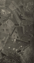 Photographs:Historical Photographs, KARL STRUSS (American, 1886-1981). Over the House Tops, Misseu, April 1911. Photogravure. Tissue: 11 x 7-3/4 inches (27....