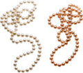 Estate Jewelry:Pearls, Freshwater Cultured Pearl Necklaces. ...