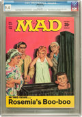 Magazines:Mad, Mad #124 (EC, 1969) CGC NM 9.4 White pages....