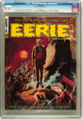 Magazines:Horror, Eerie #9 (Warren, 1967) CGC NM 9.4 White pages....