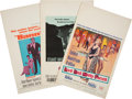 Memorabilia:Poster, Assorted Movie Posters Group (No Publisher, 1964-68).... (Total: 4Items)