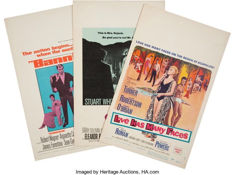 assorted movie posters group no publisher 1964 68 total
