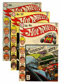 Bronze Age (1970-1979):Miscellaneous, Hot Wheels #1-6 Group - Savannah pedigree (DC, 1970-71) Condition:Average VF/NM.... (Total: 6 Comic Books)