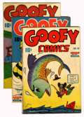 Golden Age (1938-1955):Funny Animal, Goofy Comics Group (Nedor Publications, 1945-47) Condition: AverageVG+.... (Total: 6 Comic Books)