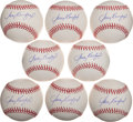 Autographs:Baseballs, Circa 2000 Sandy Koufax Single Signed Baseballs Lot of 8....