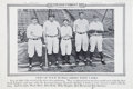"""Baseball Collectibles:Others, 1920's """"Illustrated Current News"""" Posters Lot of 21 from PhilRizzuto Collection...."""
