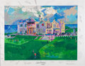 Golf Collectibles:Autographs, Circa 1990 LeRoy Neiman Artist's Proof Lithograph Signed by GolfLegends....