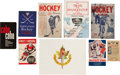 Hockey Collectibles:Publications, 1935-69 Hockey Publications Lot of 9....