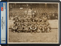 Baseball Collectibles:Photos, 1913 Chicago Cubs Team Photograph....