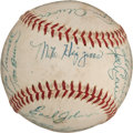 Autographs:Baseballs, 1946 Boston Red Sox Team Signed Baseball....