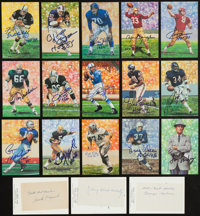 1963-2010 Pro Football Hall of Fame Signed Collection (249)