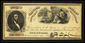 Miscellaneous:Other, Washington, DC- National Lincoln Monument Association $1 April 20,1868. ...