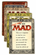 Magazines:Mad, Mad #24-26 and 30 Group (EC, 1955-56) Condition: Average GD except as noted.... (Total: 4 Comic Books)