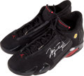 "Basketball Collectibles:Others, Michael Jordan Signed ""Upper Deck Authenticated"" Shoe...."