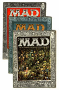 Magazines:Mad, Mad Group (EC, 1956-57) Condition: Average VG except as noted.... (Total: 6 Comic Books)