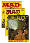 Magazines:Mad, Mad Group (EC, 1957-62) Condition: Average GD except as noted....(Total: 18 Comic Books)