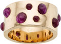 Estate Jewelry:Rings, Star Ruby, Gold Ring. ...