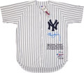 Baseball Collectibles:Uniforms, Roger Clemens Signed Jersey. ...