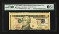 Error Notes:Inverted Third Printings, Fr. 2040-J $10 2006 Federal Reserve Note. PMG Gem Uncirculated 66EPQ.. ...