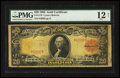 Large Size:Gold Certificates, Fr. 1179 $20 1905 Gold Certificate PMG Fine 12 Net.. ...