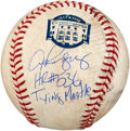 """Baseball Collectibles:Balls, Alex Rodriguez """"HR #536 Tying Mantle"""" Single Signed, Game UsedBaseball...."""