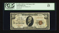National Bank Notes:Pennsylvania, Port Allegany, PA - $10 1929 Ty. 1 The First NB Ch. # 3877. ...