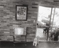 Photographs:20th Century, BILL OWENS (American, b. 1938). Nixon and Puppy, 1972.Gelatin silver, printed later. Photo: 10-3/4 x 14 inches (27.3 x...