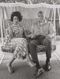 Photographs:20th Century, BILL OWENS (American, b. 1938). Cleo and James Prudent,1971. Gelatin silver, 2008. Paper: 13-3/4 x 10-7/8 inches (34.9 ...
