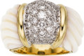 Estate Jewelry:Rings, Diamond, Chalcedony, Gold Ring. ...