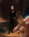 Fine Art - Painting, American:Antique  (Pre 1900), FROM THE FLANNER & BUCHANAN CORPORATE COLLECTION. WALTER G.GOULD (American, 1829-1893) after JOHN NEAGLE . HenryClay...