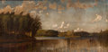 Fine Art - Painting, American:Antique  (Pre 1900), FROM THE FLANNER & BUCHANAN CORPORATE COLLECTION. D. JEROMEELWELL (American, 1857-1912). View Taken on the CharlesRive...