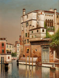 Paintings, FROM THE FLANNER & BUCHANAN CORPORATE COLLECTION. Attributed to HENRY PEMBER SMITH (American, 1854-1907). Old Palazzo on...