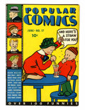Platinum Age (1897-1937):Miscellaneous, Popular Comics #17 (Dell, 1937) Condition: Qualified FN/VF....