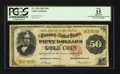 Large Size:Gold Certificates, Fr. 1194 $50 1882 Gold Certificate PCGS Apparent Fine 15.. ...
