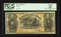 Canadian Currency: , DC-13c $1 1898. ...