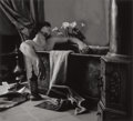 Photographs:Contemporary, VLADIMIR CLAVIJO-TELPNEV (Russian, b. 1962). Death of Marat,2003. Gelatin silver, printed later. 38 x 42 inches (96.5 x...