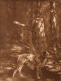 Photographs:Historical Photographs, GEORGE SEELEY (American, 1880-1955). Blotches of Sunlight and Spots of Ink, 1907. Photogravure. 8-1/8 x 6-1/8 inches (20...