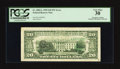 Error Notes:Third Printing on Reverse, Fr. 2082-L $20 1995 Federal Reserve Note. PCGS Very Fine 30.. ...